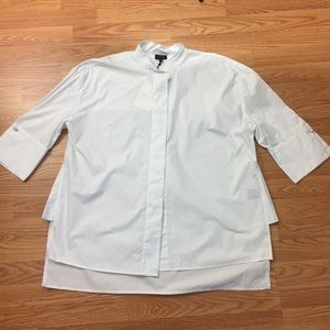 New crisp white career work shirt XXL, 2X (D6)